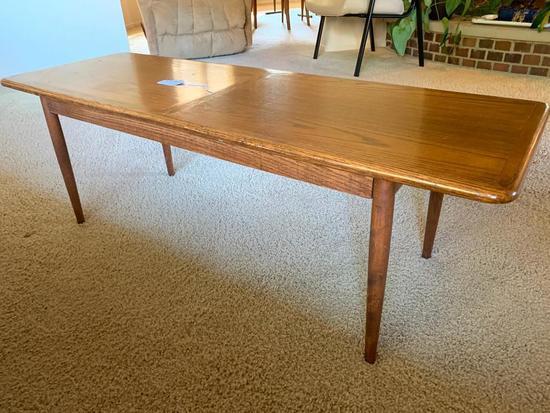 Vintage Oak Rectangular Multiple-Use Stand
