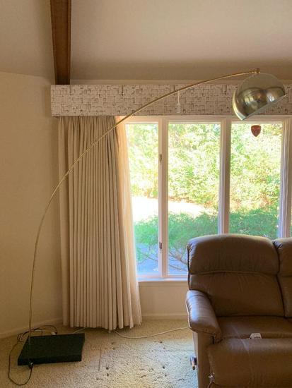 Mid-Century Modern Style Arched Floor Lamp