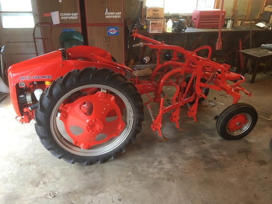Online Only Tractor and Hit Miss Motor Auction!