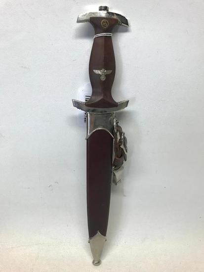 Original German SA Dagger W/Sheath Dated 1941