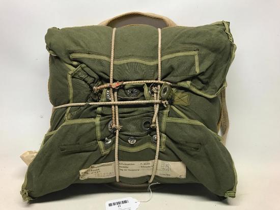 German WW II Parachute Dated 1942