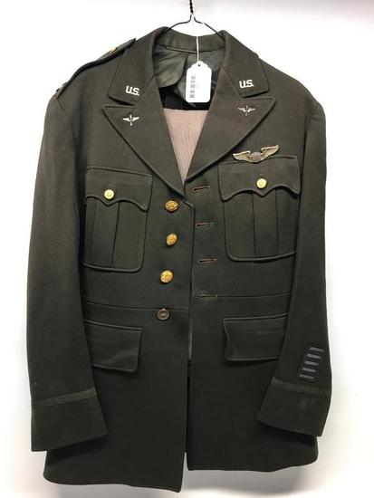 WW II Officers Uniform W/(2) Pair Of Pants