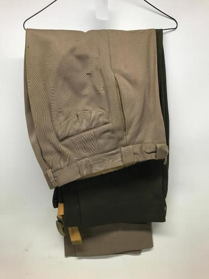 (2) Pair Of WW II Officers Pants