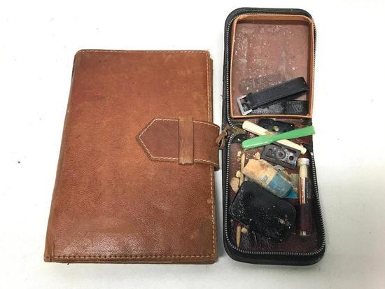 WW II Service Kit & Writing Binder