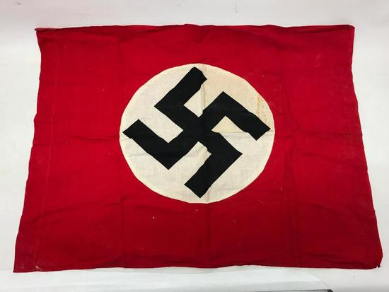 German Nazi Flag W/Swastika