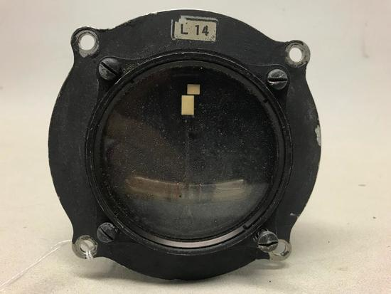 German Luftwaffe WW II Airplane Instrument Turn & Bank Indicator