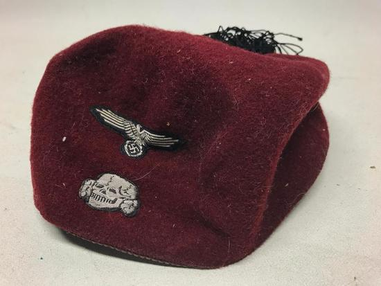 German WW II Waffen SS Fez For Muslim Volunteers