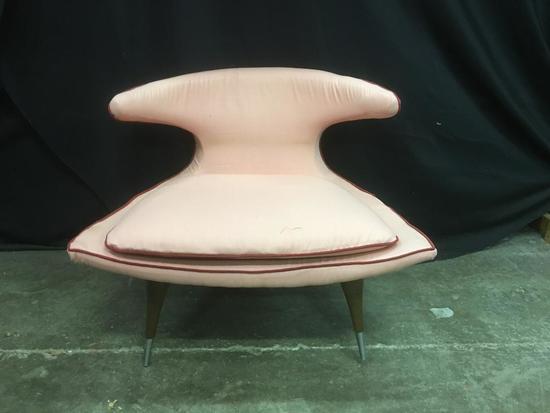 Pink, Modern Living Room Chair, Very Groovy!