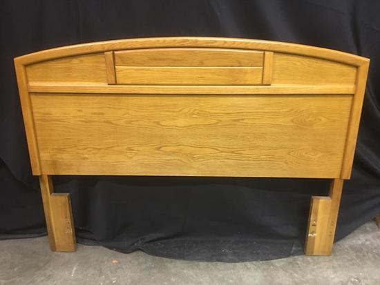 Bassett, Oak Finish Headboard, Full or Queen Size with No Frame