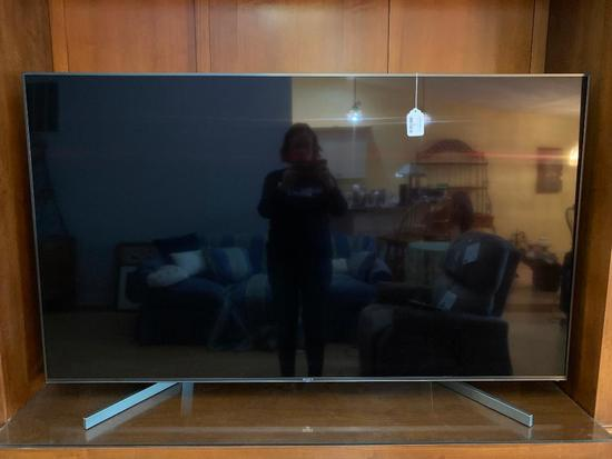 "Sony 65"" Flat Screen TV W/Remote"