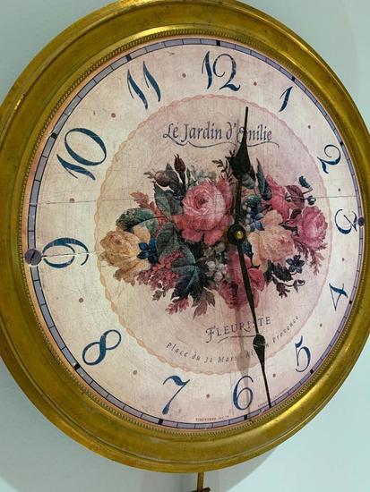 Timeworks Of California Wall Clock-Battery Operated