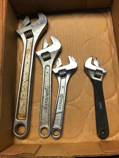 (4) Crescent Wrenches