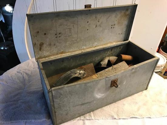 Tool Box Full Of Masonry Tools