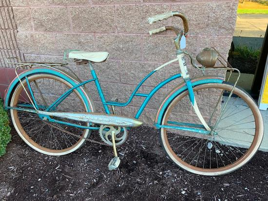 Vintage 1950's Evans 600 Girls Bicycle-Original Condition