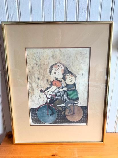 "Framed Print By Rodo Boulanger Titled ""After School"""
