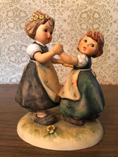 "Hummel Figurine: ""Spring Dance"""