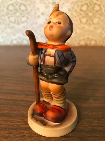 "Hummel Figurine: ""Boy With Staff"""