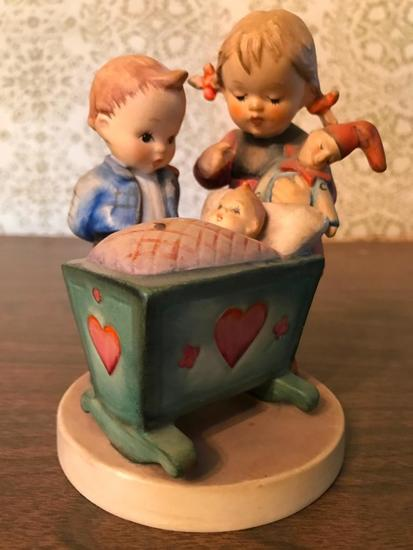 "Hummel Figurine: ""Blessed Event"""