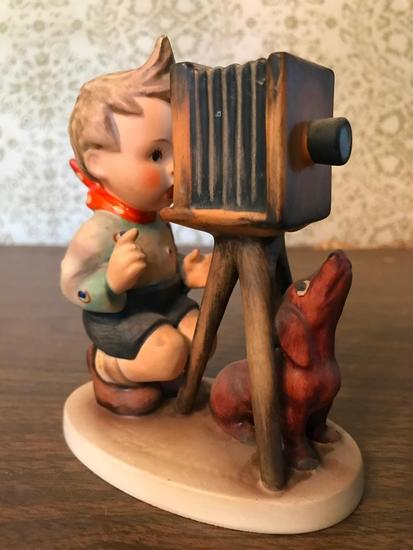 "Hummel Figurine: ""The Photographer"""