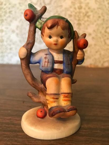 "Hummel Figurine: ""Apple Tree Boy"""