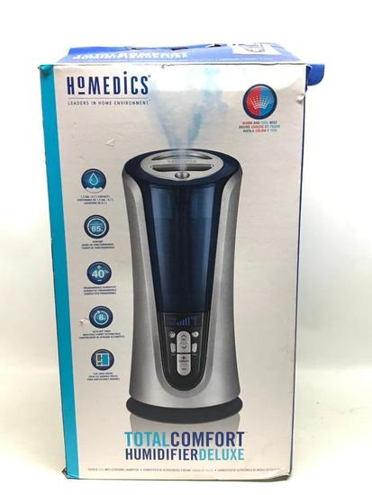 Homedics Total Comfort Humidifier W/Box