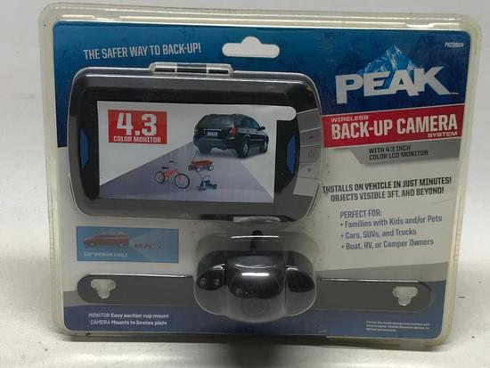 4.3 Wireless Back-Up Camera *Looks Unused*