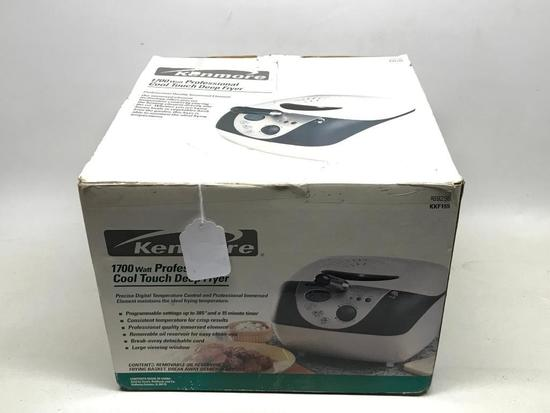 Kenmore Professional Cool Touch Deep Fryer In Box