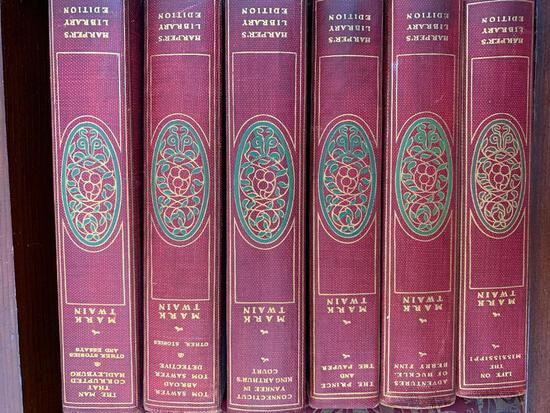 (6) Volumes Of Stories By Mark Twain