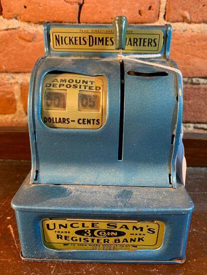 """Vintage """"Uncle Sam"""" Register Bank"""