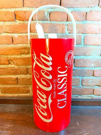 Coca-Cola Plastic Ice Bucket W/Handle