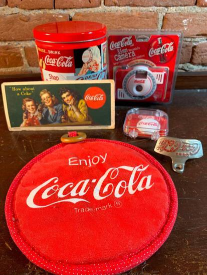 Group Of Coca-Cola Items
