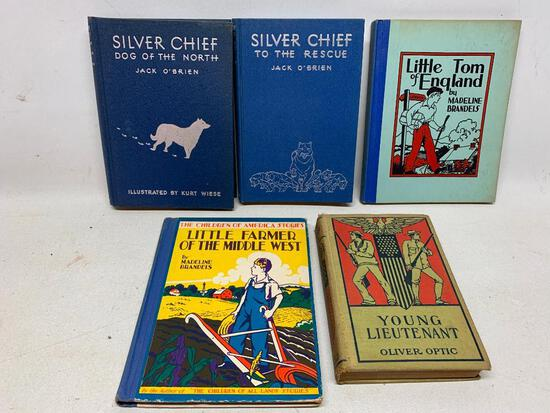 (5) 1930's Era Children's Books