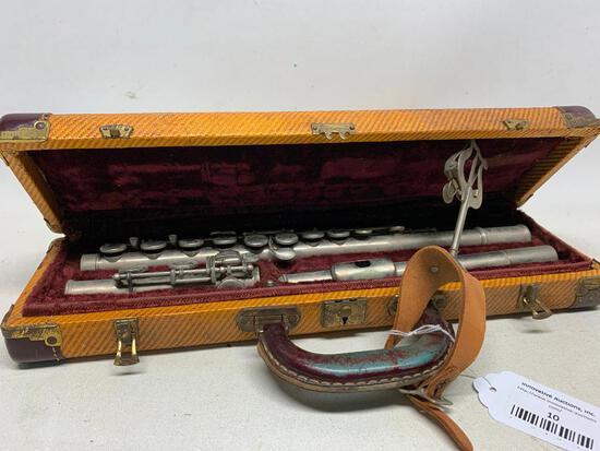 "Vintage ""Bundy"" Flute In Original Box"