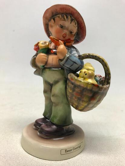 Hummel Figurine: Easter Greetings