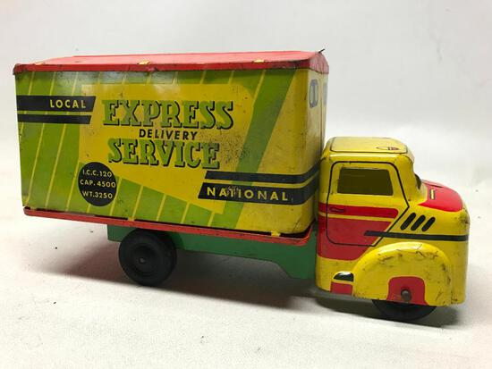 "Wyandotte ""Express Delivery Service"" Pressed Steel Truck"