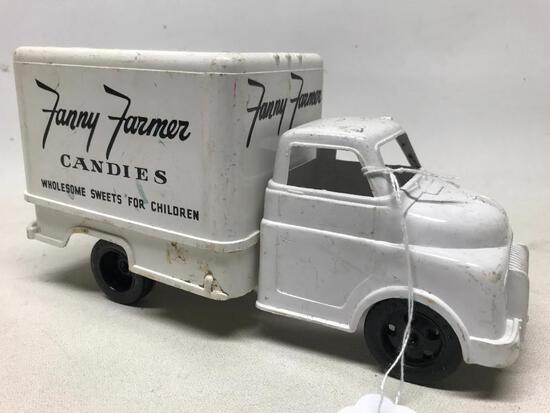 "Marx Plastic ""Fanny Farmer Candies"" Delivery Truck"