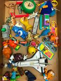 Group Of 80's Era Figures & Misc. Items