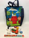 Group Of Peanuts & Snoopy Items