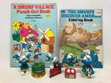 Group Of 1980's Smurf Items
