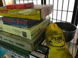 Nice Group Of Older Games, Puzzles, Marbles, & Similar Items