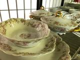(76) Pcs. Haviland & Company, Limoges, France Porcelain Dinnerware