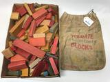 Bag Of Holgate Wooden Blocks
