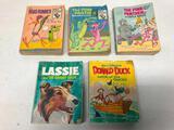 (5) 60's & 70's Big Little Books