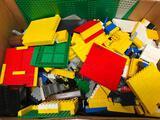 Box Of 1970's/80's Era Lego's