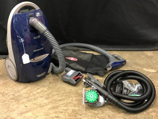 Kenmore True-Hepa Canister Vacuum W/Attachments