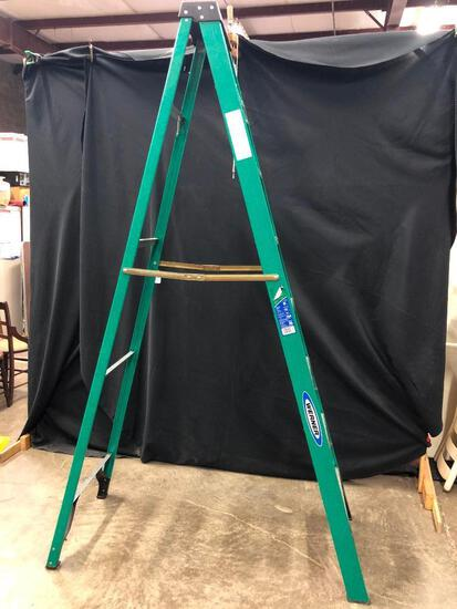 Werner 8' Fiberglass Folding Ladder