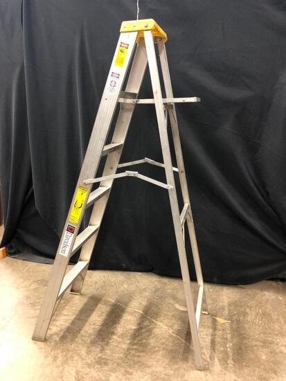 6' Aluminum Folding Ladder