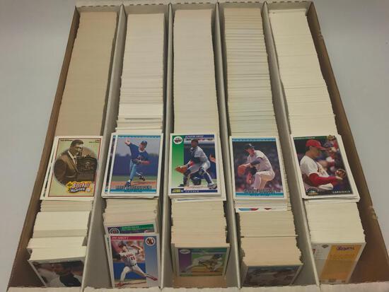 Monster Box Of 1989-1992 Baseball Cards