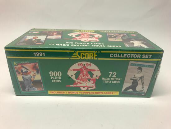 1991 Score Baseball Card Set In Box