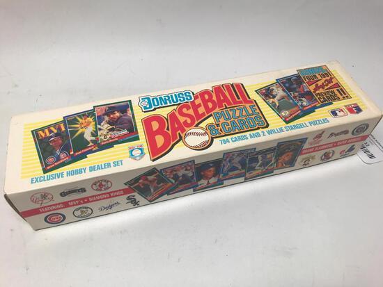 1991 Donruss Baseball Card Set In Box